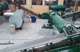 Conveyor of Organic Fertilizer Production Line                  Dryer of Organic Fertilizer Production Line
