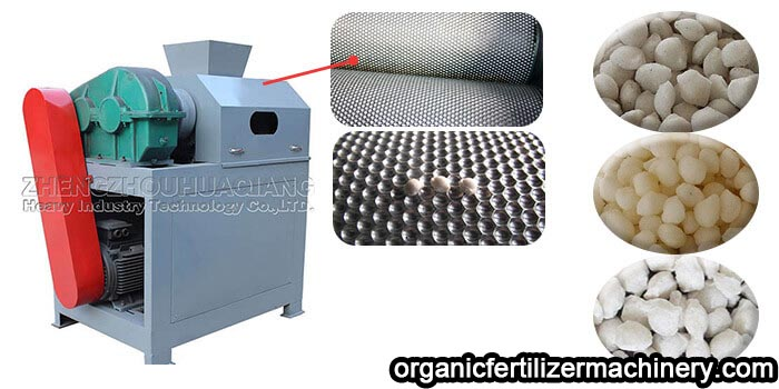 Granulation technology of dry double roller granulator