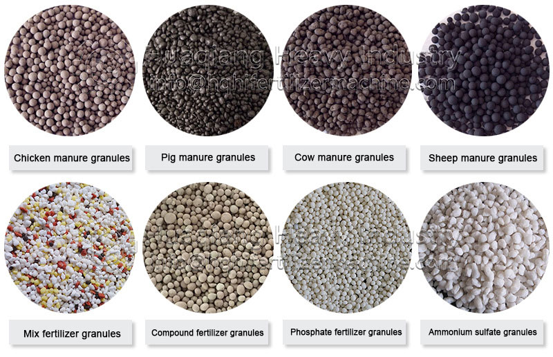 Difference between powdery organic fertilizer and granular organic fertilizer