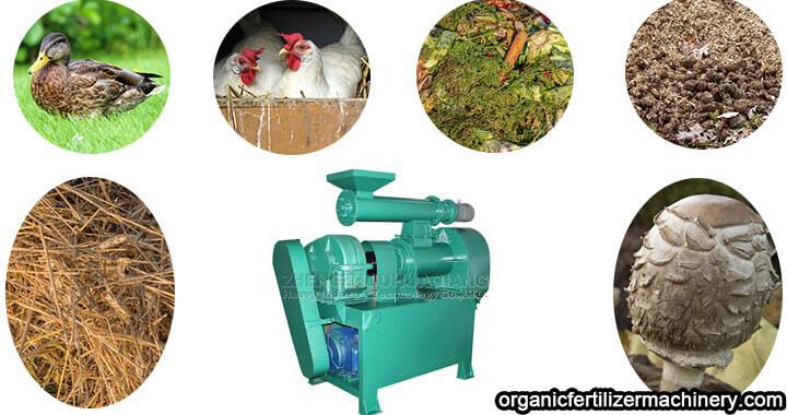 organic fertilizer ring die extrusion granulator