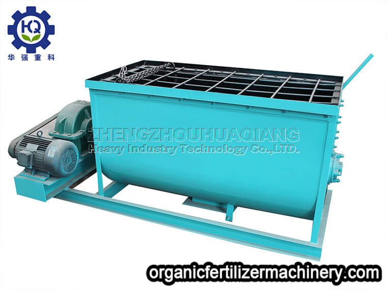 horizontal mixer machine