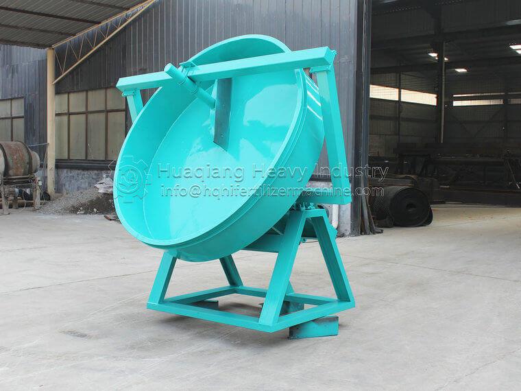 The disk fertilizer granulator ordered by myanmar