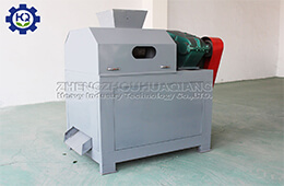 Large-scale high-yield double roller press granulation fertilizer production line