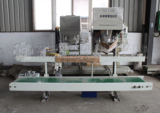 powder fertilizer packing machine
