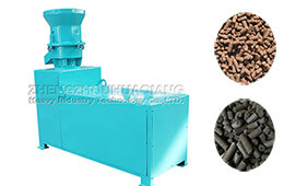 Small organic fertilizer flat die granulation fertilizer production line